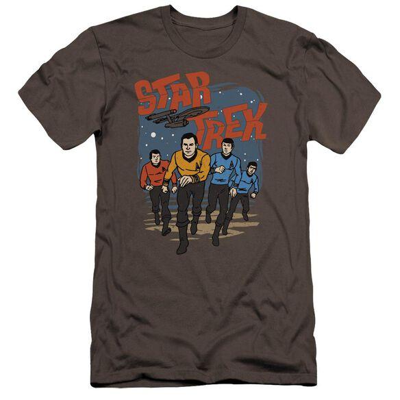 Star Trek Run Forward Premuim Canvas Adult Slim Fit