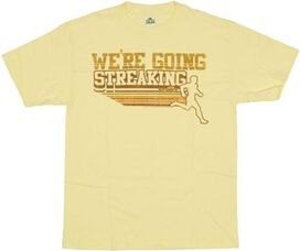 Old School Streaking T-Shirt