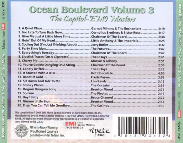 Ocean Boulevard V3 0305