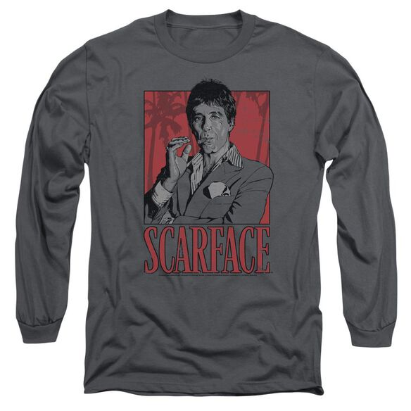 Scarface Tony Long Sleeve Adult T-Shirt