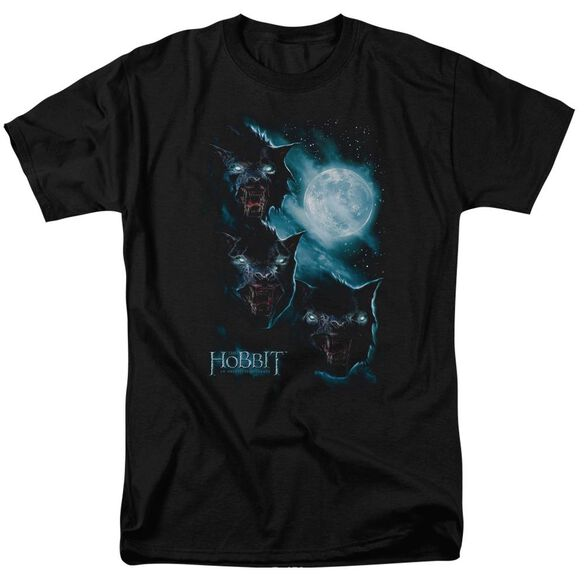 The Hobbit Three Warg Moon Short Sleeve Adult T-Shirt