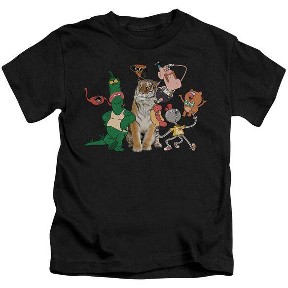 Uncle Grandpa Group Short Sleeve Juvenile Black T-Shirt