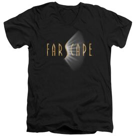 Farscape Logo Short Sleeve Adult V Neck T-Shirt