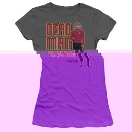 STAR TREK DEAD MAN WALKING - S/S JUNIOR SHEER - CHARCOAL T-Shirt