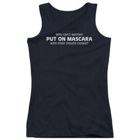 Put On Mascara Juniors Tank Top