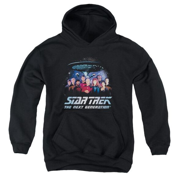 Star Trek Space Group Youth Pull Over Hoodie