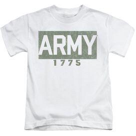 Army Block Short Sleeve Juvenile T-Shirt