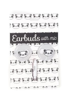 Panda Earbuds with microphone