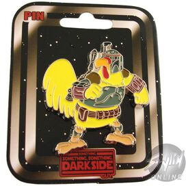Family Guy Chicken Fett Pin Pewter
