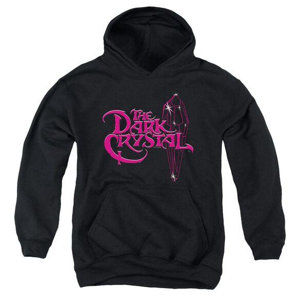 Dark Crystal Bright Logo-youth Pull-over Hoodie - Black