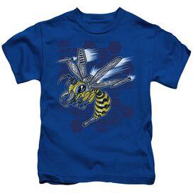 Hornet Short Sleeve Juvenile Royal T-Shirt