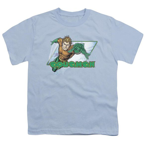 Jla Aquaman Short Sleeve Youth Light T-Shirt