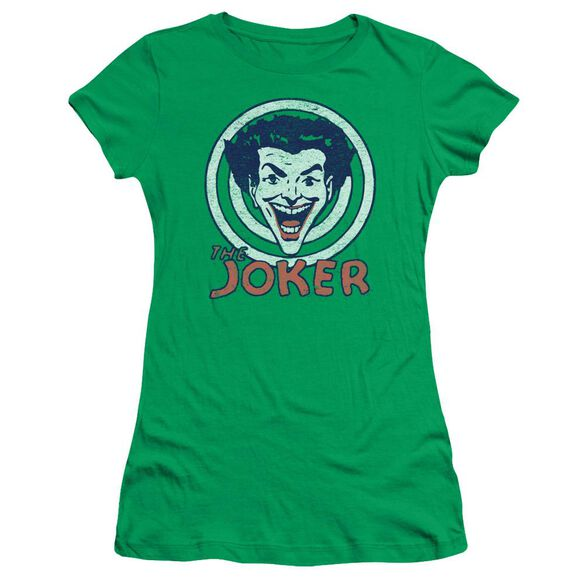 Dc Joke Target Short Sleeve Junior Sheer Kelly T-Shirt