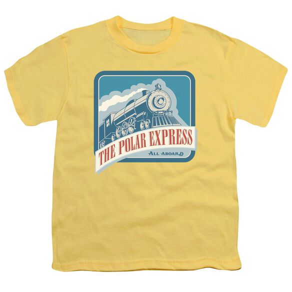 Polar Express All Aboard Short Sleeve Youth T-Shirt