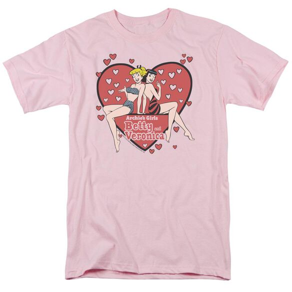 Archie Comics Archies Girls Short Sleeve Adult T-Shirt
