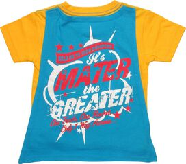 Cars Rocket Mater Caped Toddler T-Shirt
