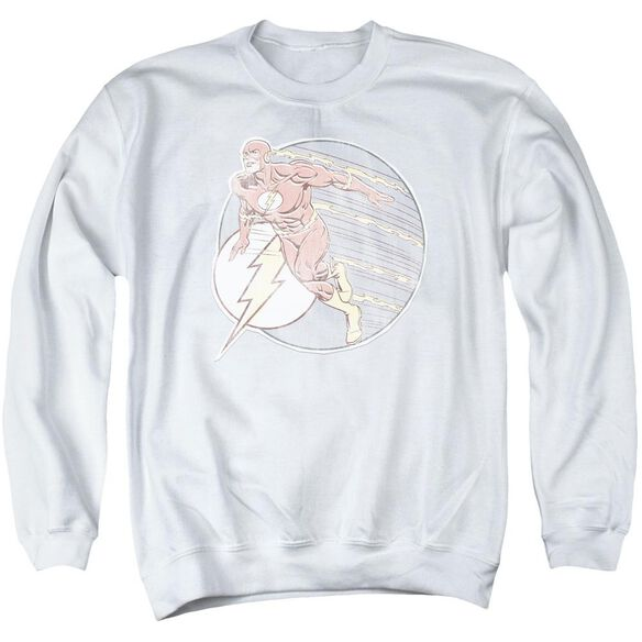 Dco Retro Flash Iron On Adult Crewneck Sweatshirt