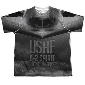 Air Force Stealth Short Sleeve Youth Poly Crew T-Shirt