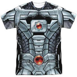 Jla Cyborg Short Sleeve Adult Poly Crew T-Shirt