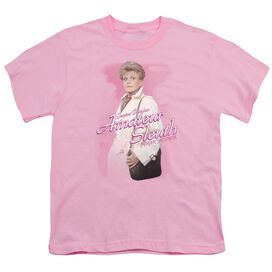 Murder She Wrote Amateur Sleuth Short Sleeve Youth T-Shirt