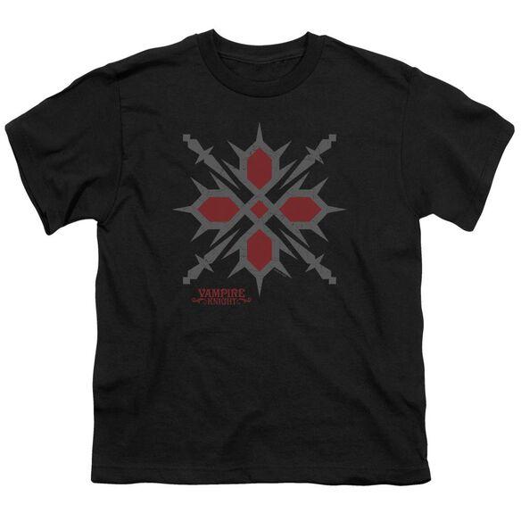 Vampire Knight Hunter Symbol Short Sleeve Youth T-Shirt