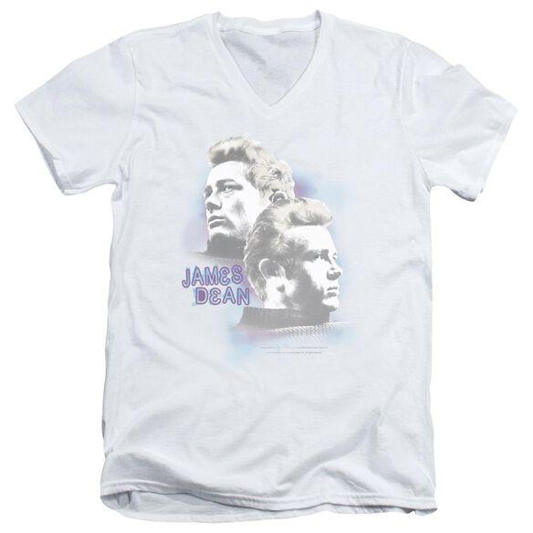 Dean Pastel Charmer Short Sleeve Adult V Neck T-Shirt