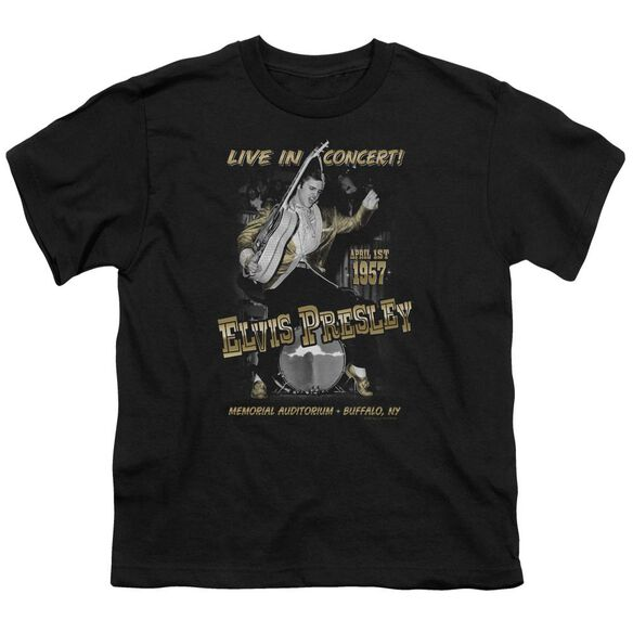 Elvis Live In Buffalo Short Sleeve Youth T-Shirt