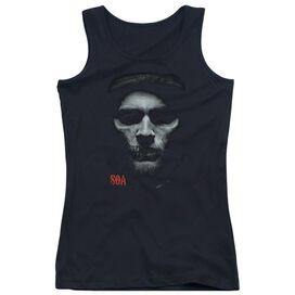 Sons Of Anarchy Skull Face Juniors Tank Top