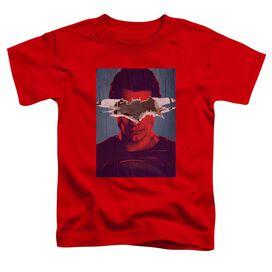 Batman Vs Superman Superman Poster Short Sleeve Toddler Tee Red T-Shirt
