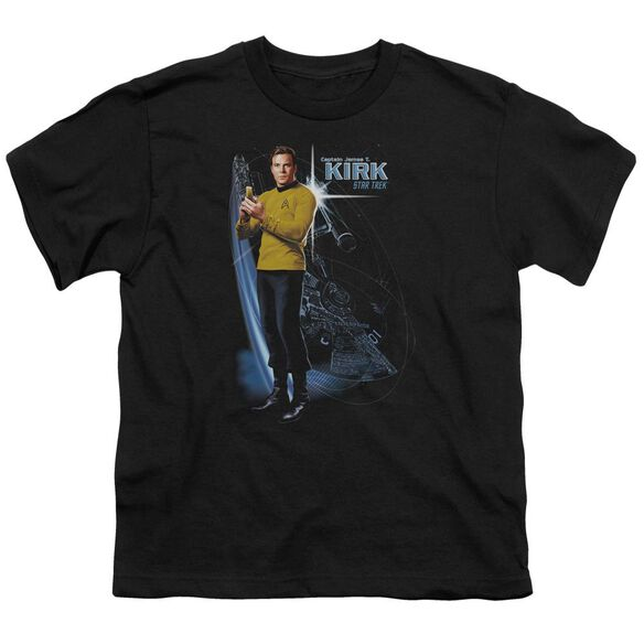 Star Trek Galactic Kirk Short Sleeve Youth T-Shirt