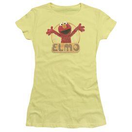 Sesame Street Elmo Iron On Short Sleeve Junior Sheer T-Shirt