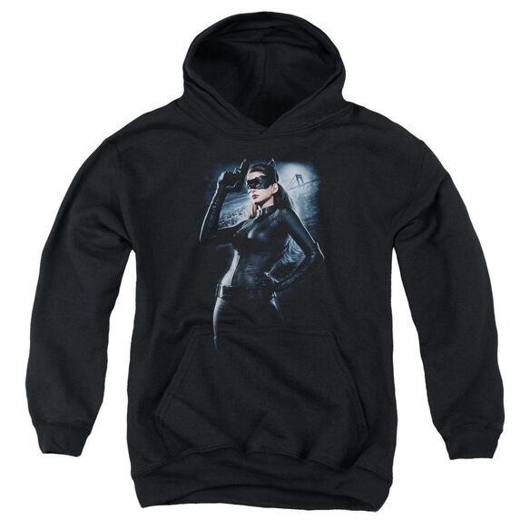 Dark Knight Rises Out On The Town Youth Pull Over Hoodie