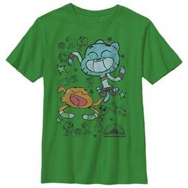 Gumball Darwin Chalk Youth T-Shirt