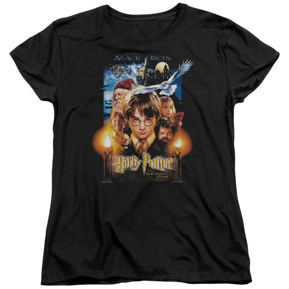 Harry Potter Movie Poster Short Sleeve Womens Tee T-Shirt