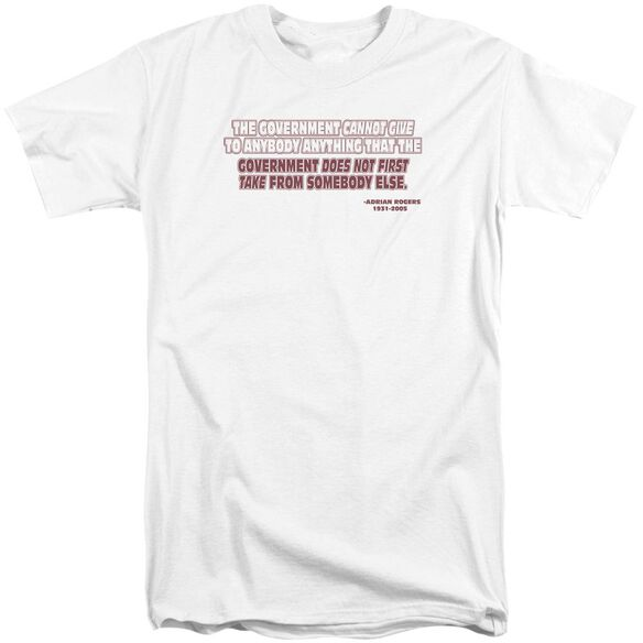 Government Give Take Short Sleeve Adult Tall T-Shirt