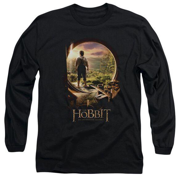 The Hobbit Hobbit In Door Long Sleeve Adult T-Shirt