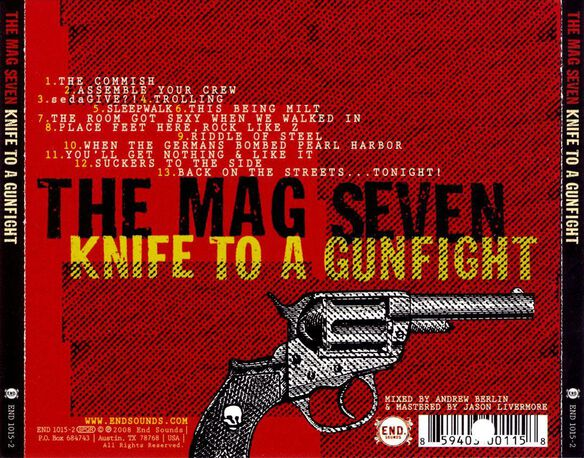 Knife To A Gunfight