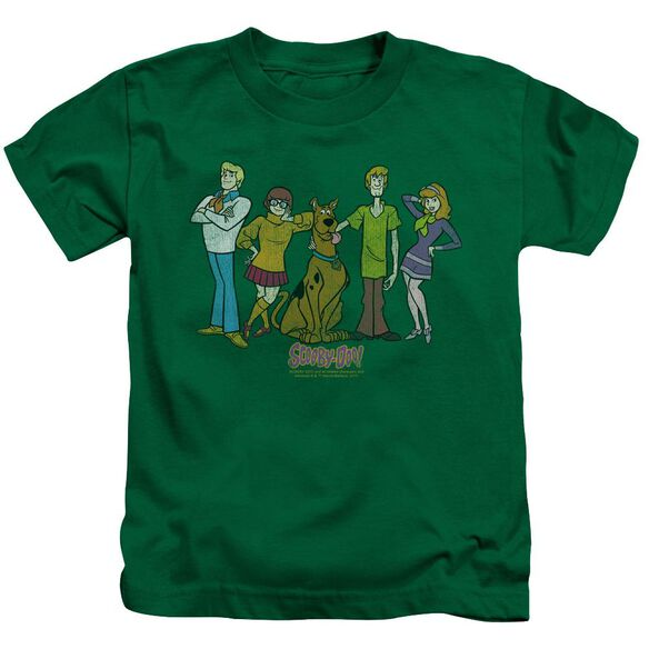 Scooby Doo Scooby Gang Short Sleeve Juvenile Kelly T-Shirt