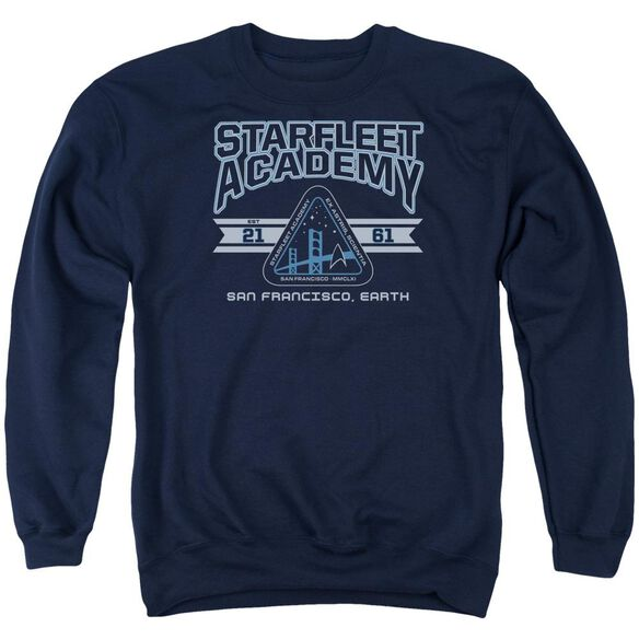 Star Trek Starfleet Academy Earth Adult Crewneck Sweatshirt