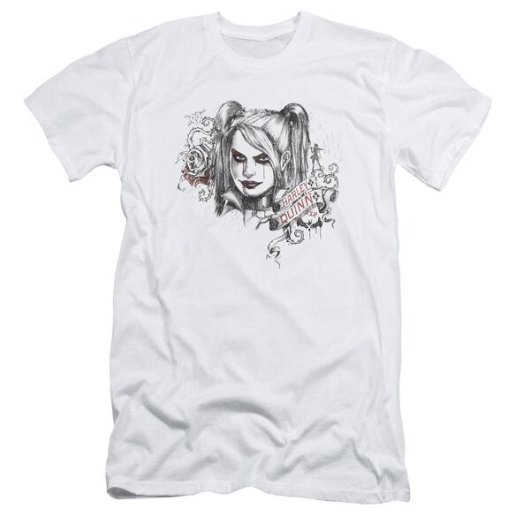 Batman Arkham Knight Sketchy Girl Short Sleeve Adult T-Shirt