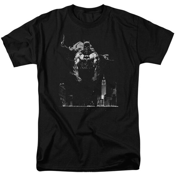 Batman Dirty City Short Sleeve Adult T-Shirt