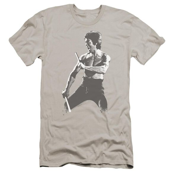 Bruce Lee Chinese Characters Premuim Canvas Adult Slim Fit