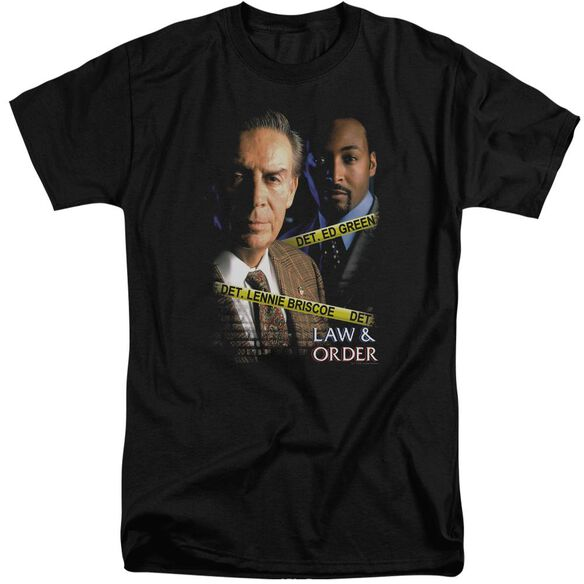 Law And Order Briscoe And Green Short Sleeve Adult Tall T-Shirt