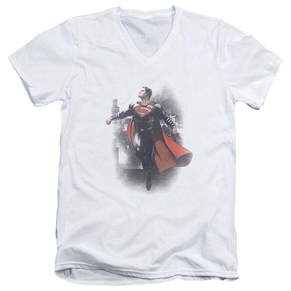 Batman Vs Superman A New Dawn Short Sleeve Adult V Neck T-Shirt