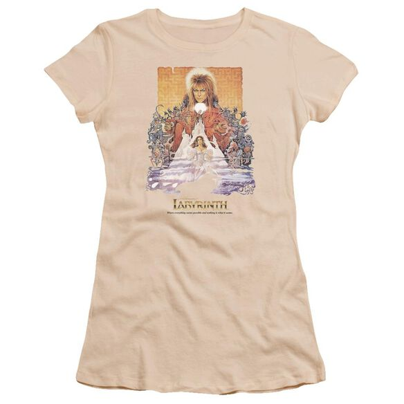 Labyrinth Movie Poster Premium Bella Junior Sheer Jersey