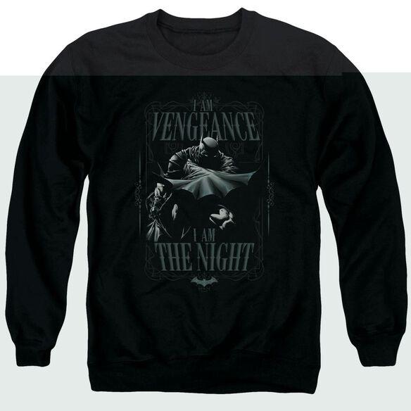Batman I Am Adult Crewneck Sweatshirt