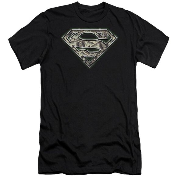 Superman All About The Benjamins Premuim Canvas Adult Slim Fit