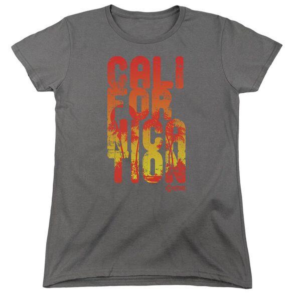 Californication Cali Type Short Sleeve Womens Tee T-Shirt