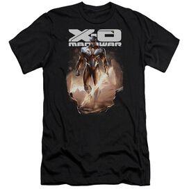 Xo Manowar Lightning Sword Short Sleeve Adult T-Shirt