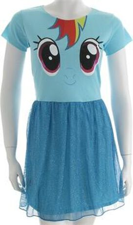 My Little Pony Rainbow Dash Mighty Fine Dress